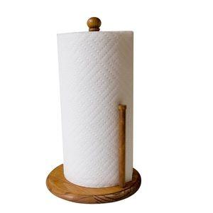Pine Paper Towel Holder